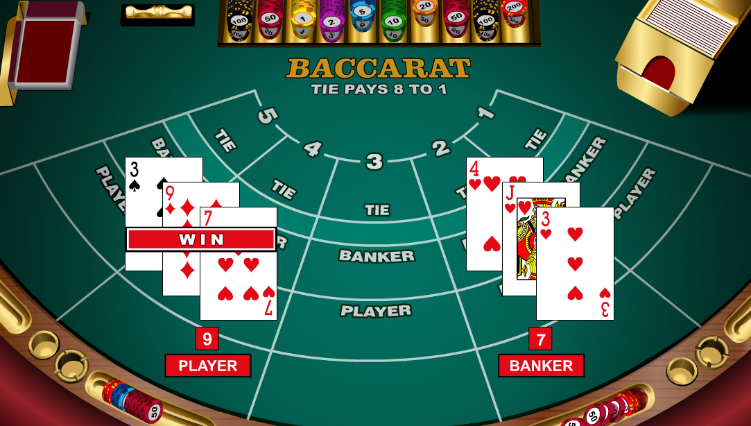 одно из названий карточной игры баккара
