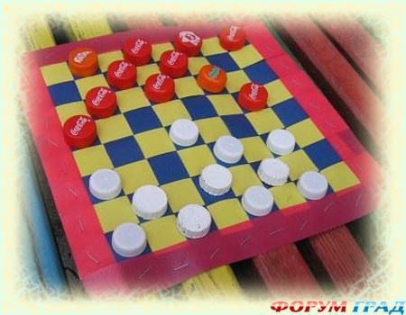 Как сделать шашки своими руками из бумаги в домашних условиях 43