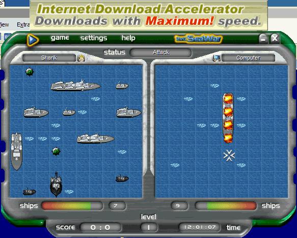 Морской бой. Подводная война полная версия бесплатно, скачать.