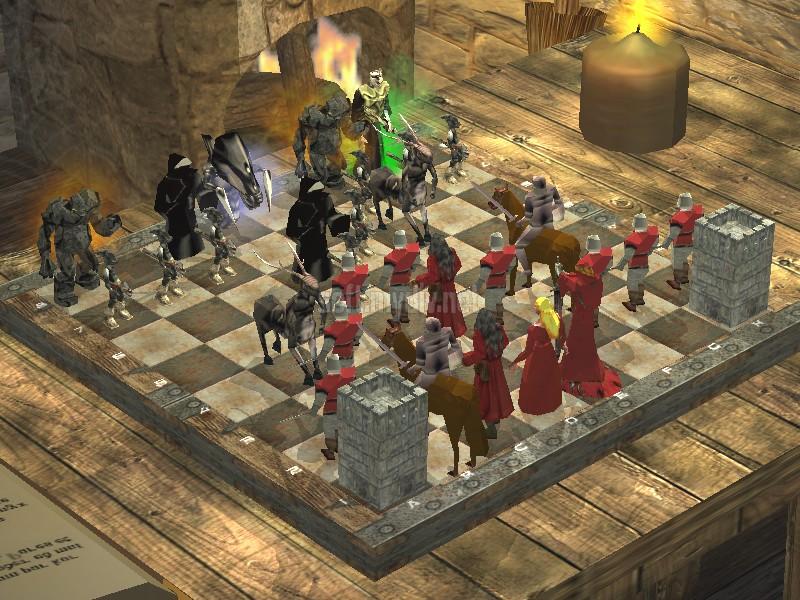 Анимированные шахматы 3d