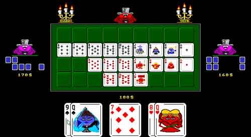Играть в игру карты девятка плагин для игры казино вулкан