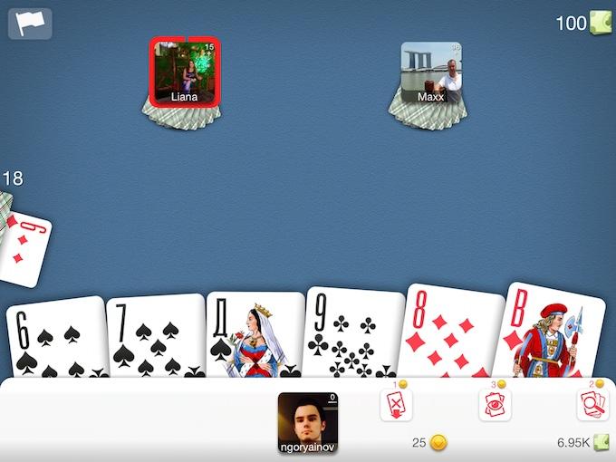 i карты дурак подкидной играть онлайн бесплатно