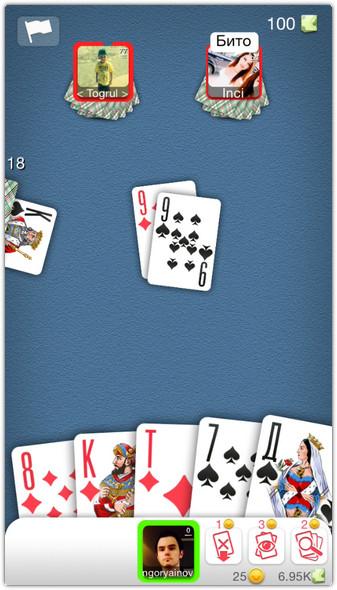 карты играть онлайн
