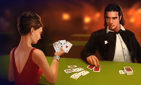 на двоих карты играть