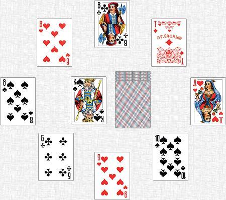 дурака играть карты научиться в как в