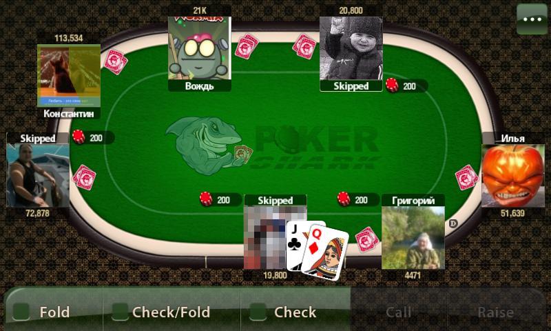онлайн играть шарк покер i